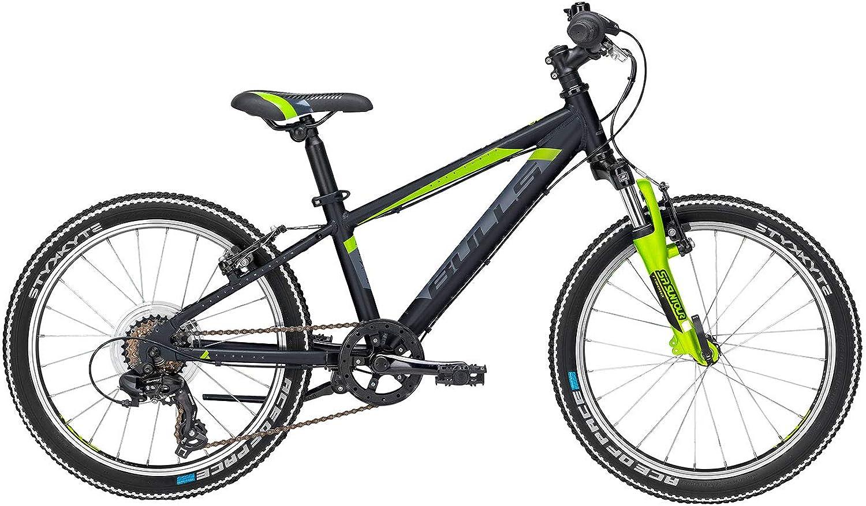 Kinder Fahrrad 20 Zoll schwarz - Bulls Bike Tokee - Shimano Kettenschaltung, Suntour Federgabel