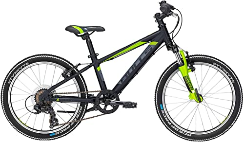 Kinder Fahrrad 20 Zoll Schwarz- Bulls Bike Tokee - Shimano Kettenschaltung, Suntour Federgabel