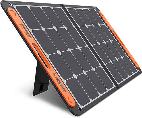 Jackery SolarSaga 100W Portable Solar Panel for Explorer 160/240/500/1000 Power Station, Foldable US Solar Cell Solar...