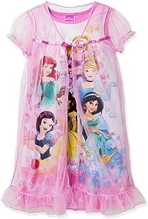 Princess Girl's Peignoir Nightgown Pajama Set (Little Kid/Big Kid)