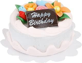 Darice, Miniature 1 inch Happy Birthday Cake, 1