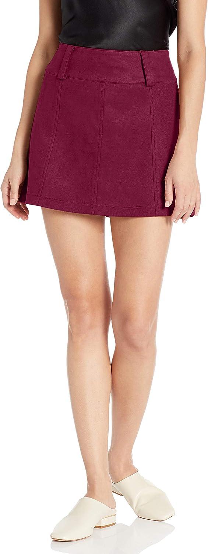 Jack Women's Secret Faux Suede Mini Skirt