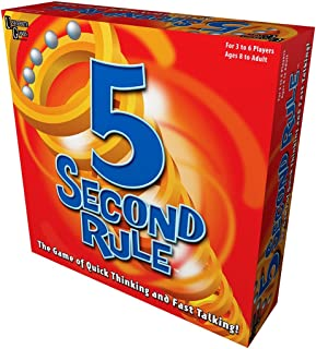 University Games BOX-04475 5 Second Rule Board Game