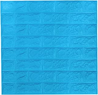 comprar comparacion 3D Papel tapiz de ladrillo, repique extraíble y pegatina de pared de espuma PE para sala de estar (5 piezas Ladrillo Blanc...