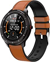 "DoSmarter Fitness Watch, 1.3"" Touchscreen Smart Watch with Heart Rate Blood Pressure Monitor,Waterproof Fitness Tracker wi..."