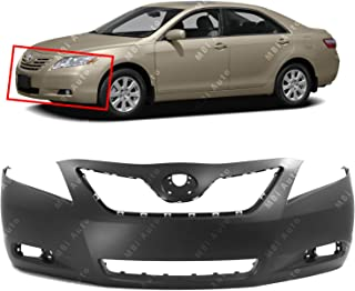 MBI AUTO - Primered, Front Bumper Cover Fascia for 2007-2009 Toyota Camry 07-09, TO1000329