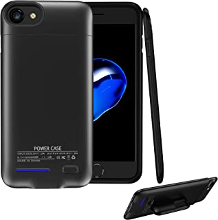 Battery case for iPhone 6 6s 7 8, 3000mAh Protable Protective Charging Case, Rechargeable External Battery Power Charger Case Compatible with iPhone 6 6s 7 8(4.7 inch) (Black)