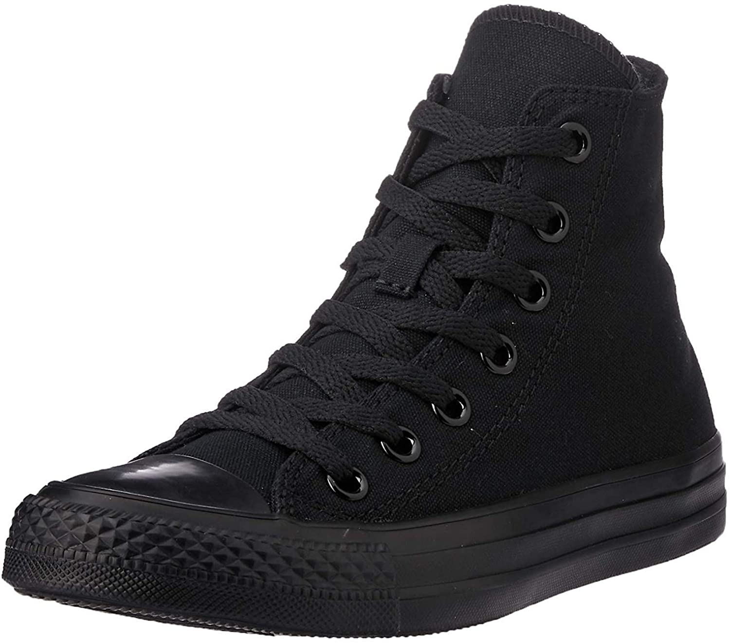 Converse Womens Chuck Taylor All Star High Top Sneakers - Black Monochrome