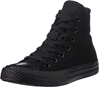 Unisex Chuck Taylor All Star High Top Sneakers (Black Monochrome)
