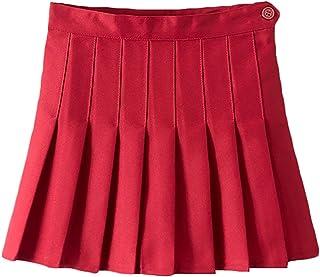 Women Girls Flared Short High Waist Pleated Skater Tennis Skirt Japan School Uniforms Cosplay Sport Casual Mini Skorts Skirt
