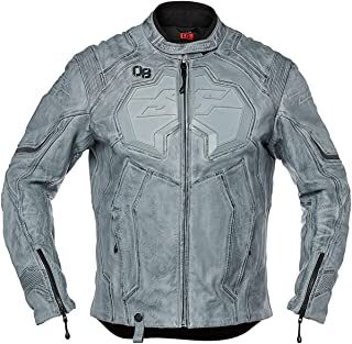 Speed and Strength Exile Men's Street Motorcycle Jacket - Charcoal/Large