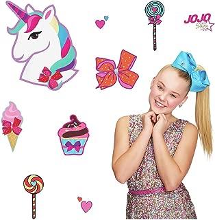 York JoJo Siwa Unicorn Dream Peel and Stick Giant Wall Decals Girls Room Fun Stickers
