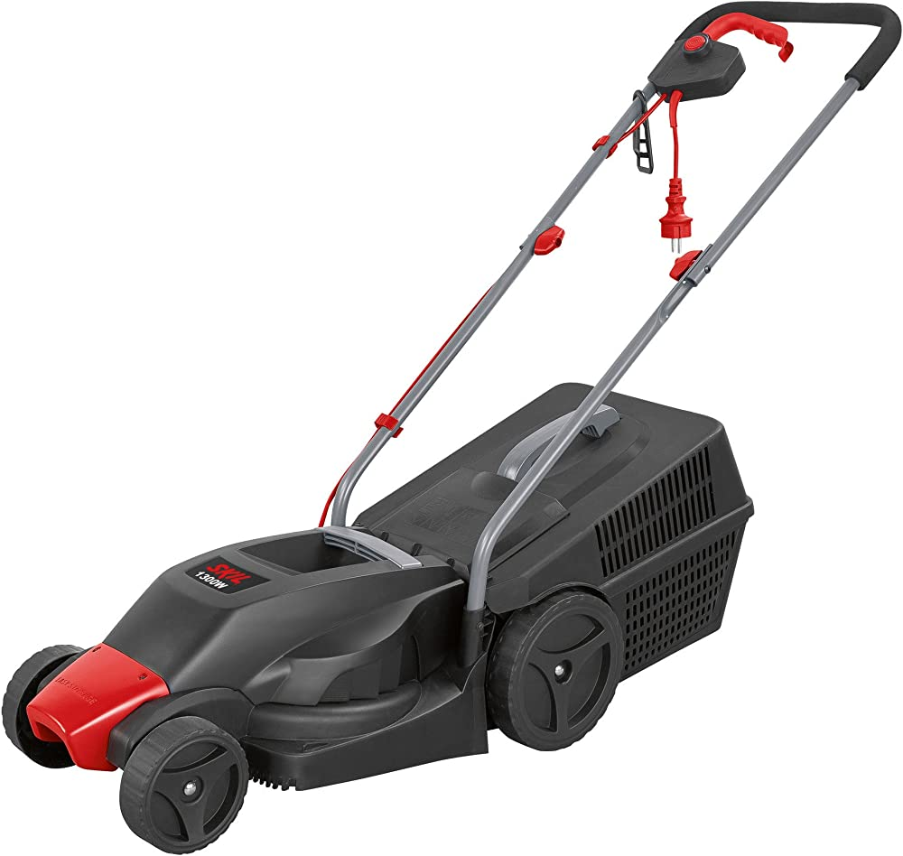 Skil F0150713AA Cortacésped eléctrico, 1300 W, 240 V, Negro
