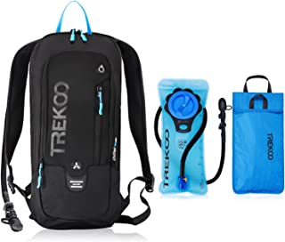 Trekoo 10L Hydration Backpack Pack with 2L Leak Proof Water Bladder, Biking Backpack for Running, Cycling, Hiking and Camping