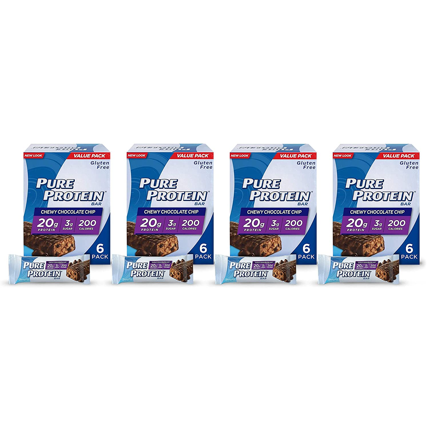 Pure New Orleans Mall Protein Bars High Nutritious Max 43% OFF to En Support Snacks