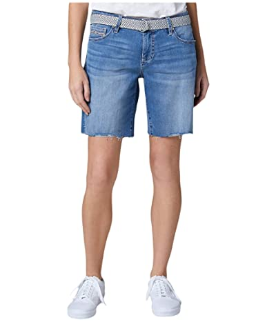Jag Jeans Demi Belted Denim Boyfriend Shorts (Mission) Women