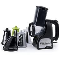 Presto 02970 Professional... Presto 02970 Professional SaladShooter Electric Slicer/Shredder, Black