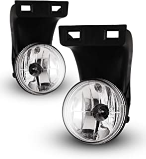 Winjet Fog Lights For 1994-2001 Dodge Ram 1500, 1994-2002 Dodge Ram 2500/3500 (Only fit without sport package model) OEM Replacement Fog Lamps 2PCS