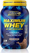 Maximum Human Performance Maximum Whey Protein, 25g Fast Acting Delicious Tasting Protein, Enhances Strength & Speeds Reco...