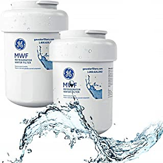 MWF Refrigerator Water Filter, MWF Water Filter for GE Refrigerator, 2 Pack