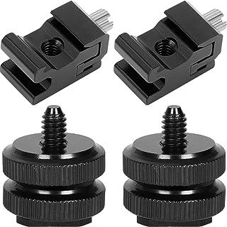 Anwenk Camera Hot Shoe Mount Adapter Flash Shoe Mount to 1/4