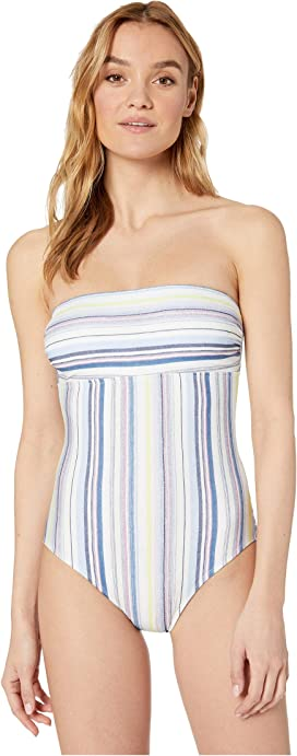 47f05c8096707 Tommy Bahama Island Cays Bandeau One-Piece at Zappos.com