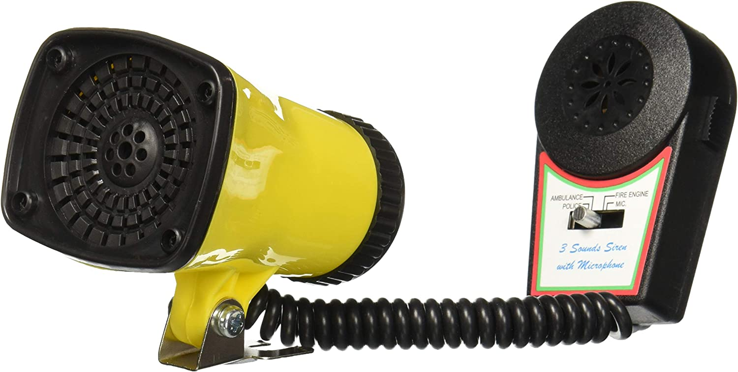 SUPER SIREN with Limited time trial price Mic Yellow Bicycle Bike Horn Super Special SALE held