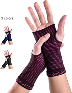 New Technology Breathable and Sweat-Absorbing Fabric Medical Compression Wrist Brace Sleeves (Pair),Carpal Tunnel and Wrist Pain Relief Treatment,Wrist Support for Women and Men