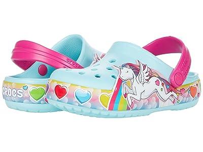 Crocs Kids Fun Lab Unicorn Lights Clog (Toddler/Little Kid) Girl
