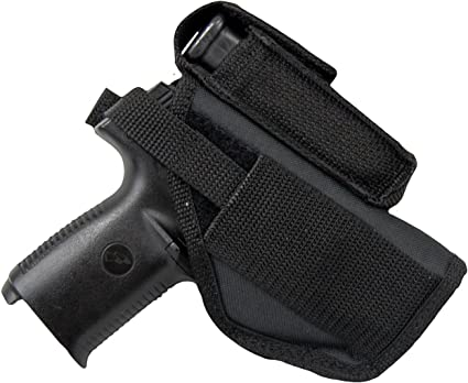 Kydex IWB//OWB BELT CLIP For S/&W Shield Glock 43 NEW KAOS Concealment Mag Pouch