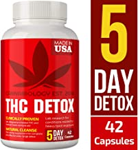 Detox Made in USA - 5 Day Detox - Bio-Cleanse + Liver Detox, Urinary Tract & Kidney Cleanse + Broad-Spectrum Toxin Cleanse - Natural THC Remover Detox - Milk Thistle, Cranberry - 42 Vegan Capsules