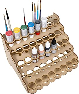 The Broken Token Modular Paint Rack (Straight 26mm Holes)