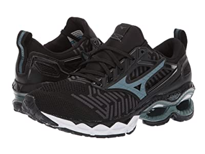 Mizuno Wave Creation 20 Knit (Black/Dark Shadow) Women