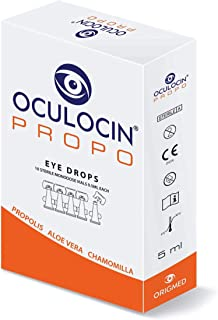 OCULOCIN PROPO Eye Drops 10 Monodose Vials - IMMEDIATE Relief for Tired Irritated Dry Eyes