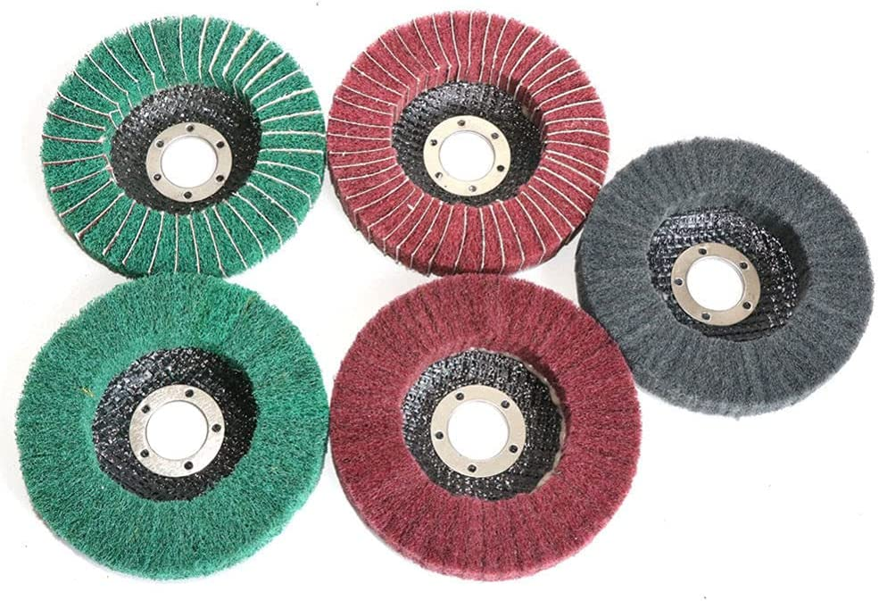 Max 82% OFF Nylon Fiber Polishing Wheel Challenge the lowest price of Japan ☆ Grinding Non-woven Disc Scou 11522mm