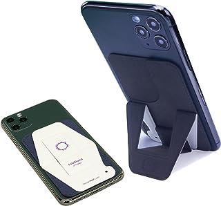 [Amazon限定ブランド] FoldStand phone スマホスタンド 折りたたみ 卓上 軽量 極薄 スマホホルダー スキミング防止カードケース スマホ スタンド 携帯スタンド 寝ながらスマホ スマホ立て スマートフォンホルダー iPho...