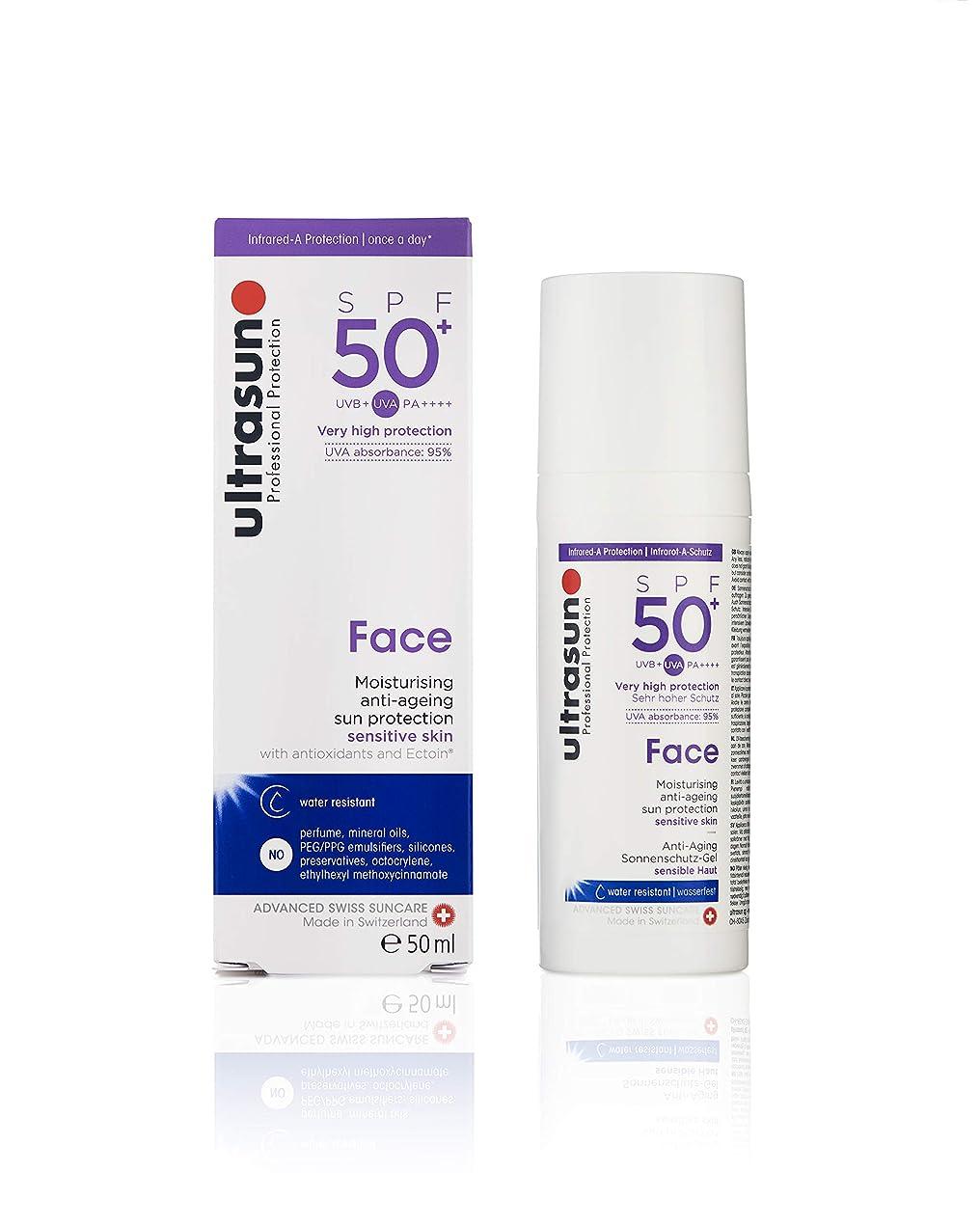 キャストわざわざ羽アルトラサン 日やけ止めクリーム フェイス UV 敏感肌用 SPF50+ PA++++ トリプルプロテクション 50mL