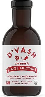 D'vash Organic Date Nectar With Cayenne Pepper   Non-GMO, Vegan & Gluten Free From Organic California Dates