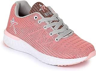 REFOAM Women's Pink Mesh Running Sport Shoes