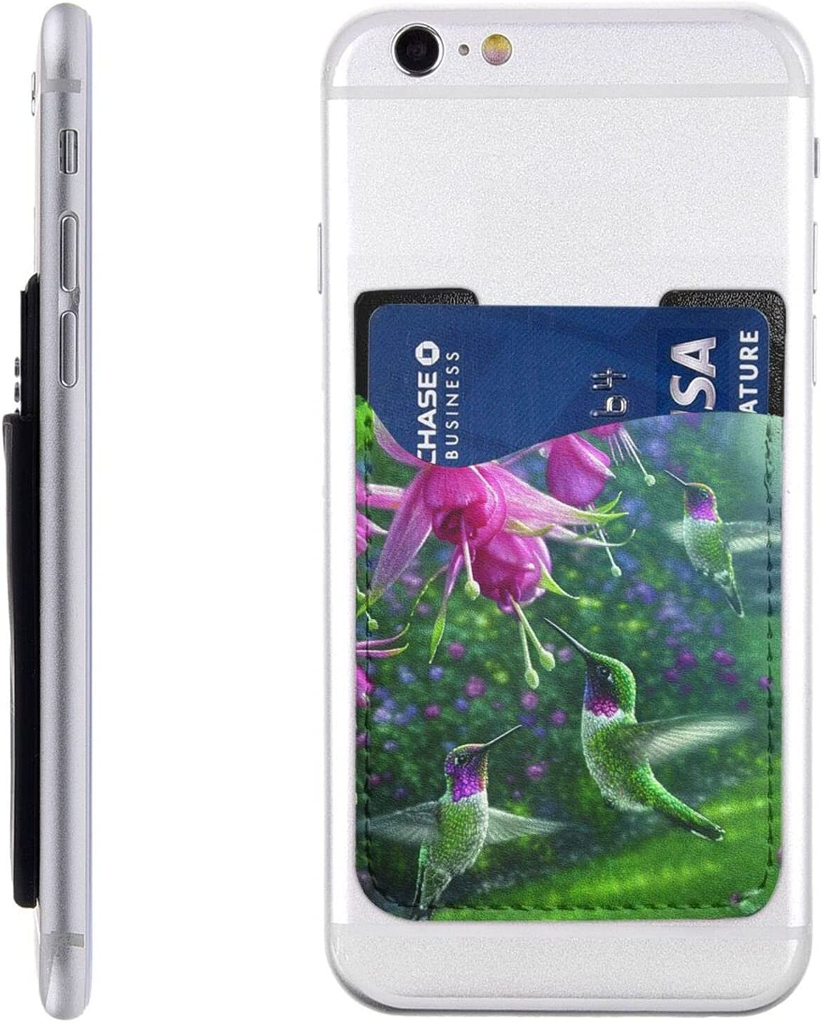 Heaven OFFicial site Hummingbird Phone Card Holder Cell Stick On Under blast sales Wa