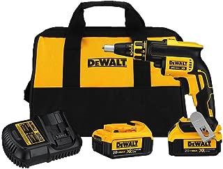 DEWALT 20V MAX XR Drywall Screw Gun, Brushless, 4.0-Amp Hour (DCF620M2)