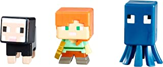 Mattel Minecraft Collectible Figures Set J (3-Pack), Series 3