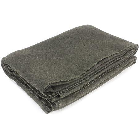 "EverOne Grey Wool Fire Retardant Blanket, 62"" x 80"""