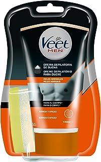 comprar comparacion Veet for Men Crema Depilatoria Corporal para Usar Bajo la Ducha para Hombre, Piel Normal, 150 ml