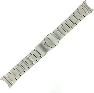 Seiko Original Stainless Steel Watch Band 22mm and Genuine Seiko Spring Bars
