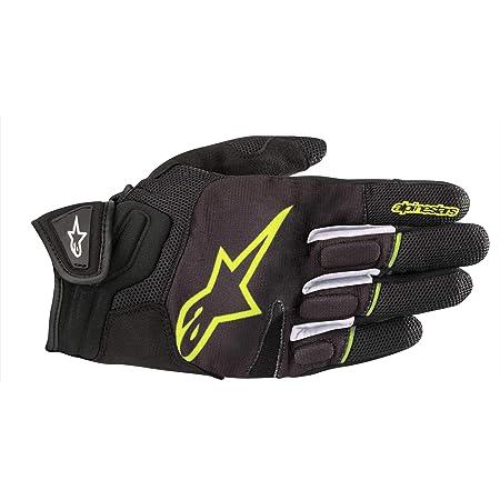 Alpinestars Motorradhandschuhe Atom Gloves Black Yellow Fluo Schwarz Gelb Xxl Auto