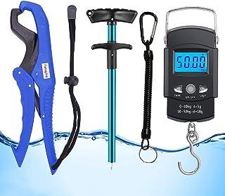 GRANDBUY Handheld Digital Fish Scale 99lb/45kg with...