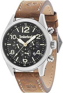 c3e8c259e03 Timberland Ashmont Mens Analogue Quartz Watch with Calfskin Bracelet  15249JS-02