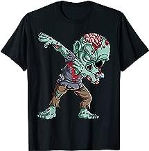 Dabbing Zombie T shirt Halloween Boys Kids Dab Funny Zombies T-Shirt