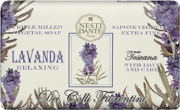 Nesti Dante Nesti dante dei colli fiorentini triple milled vegetal soap - tuscan lavender, 8.8oz, 8.8 Ounce